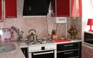 Кухня размером 5 кв. м в «хрущевке»