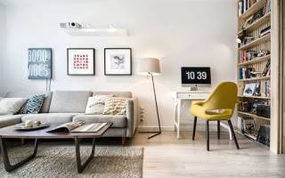 Тонкости оформления гостиной в «хрущевке»
