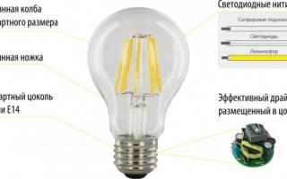 Светодиодные лампы для люстры