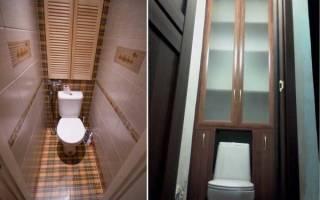 Как самостоятельно изготовить шкаф в туалет?