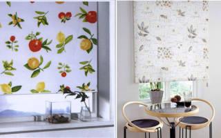 Особенности выбора цветовой гаммы штор на кухню