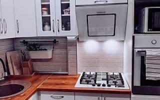 Г-образная кухня в интерьере