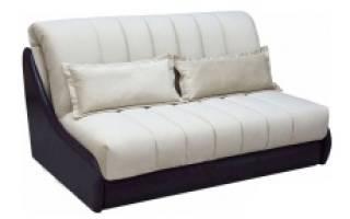 Раскладной диван без подлокотников