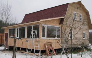 Как сделать каркасную пристройку к дому?
