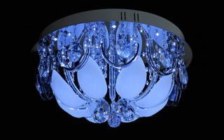 Галогеновые люстры фото
