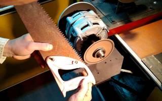 Как наточить ножовку в домашних условиях?
