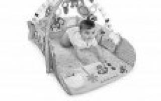 Выбираем детский коврик с игрушками