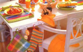 Текстиль на кухне фото