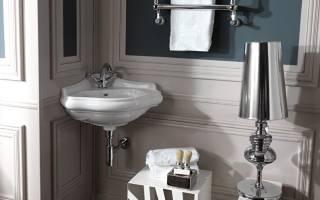 Стильный дизайн маленькой ванной комнаты