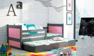 Выдвижные кровати для двоих детей