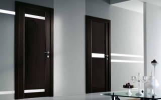 Межкомнатные двери цвета «венге»