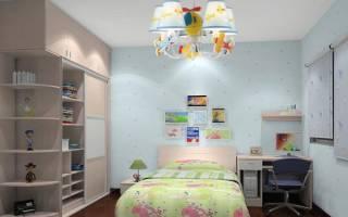 Люстры в детскую комнату для мальчика