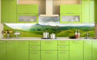 Как правильно устанавливать фартук на кухне?
