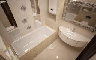 Обзор модной плитки для маленькой ванны