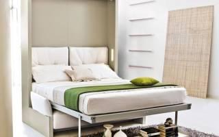 Двуспальные кровати-трансформеры фото