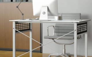 Особенности выбора металлических компьютерных столов