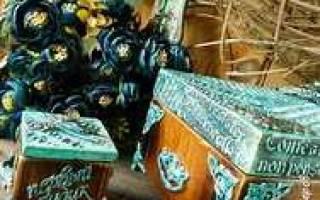 Деревянные шкатулки фото