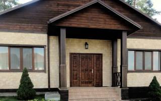 Входные железные двери для частного дома