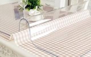Прозрачные силиконовые накладки на стол