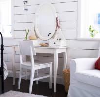 Туалетный столик с зеркалом икеа фото