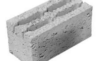 Стандартные размеры керамзитобетонных блоков