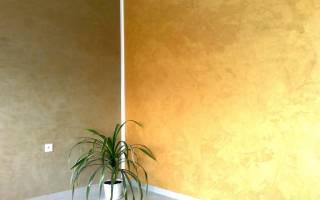 Декоративная краска для стен с эффектом шелка