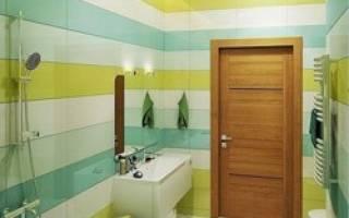 Выбираем двери для туалета и ванной