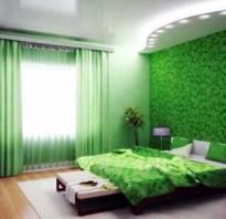 Зеленый цвет обоев