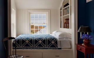 Кровать в нише