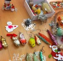 Елочные игрушки фото