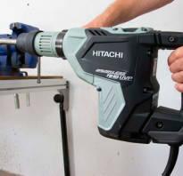 Все о перфораторах Hitachi