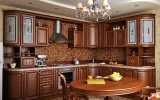 Классические кухни фото